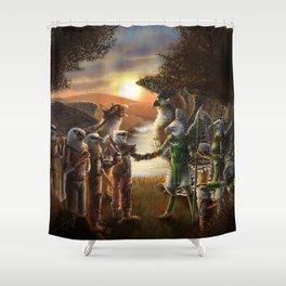 A New Alliance Shower Curtain