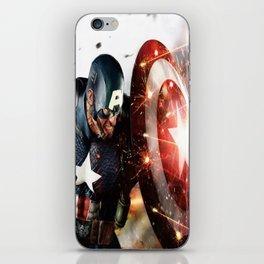 Man Of Captain In America iPhone Skin