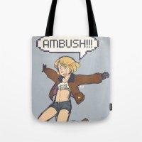 hetalia Tote Bags featuring AMBUSH!!! by gohe1090