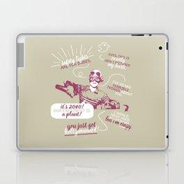 holtzmann quotes 2.0 Laptop & iPad Skin