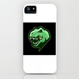 Dinosaur Head Gift Motif Design iPhone Case