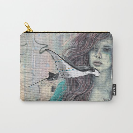 Solid Air Carry-All Pouch