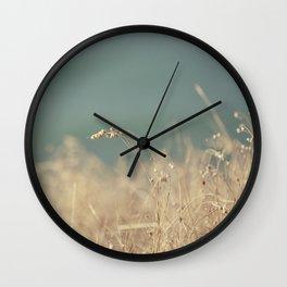 Goat Beach Grass   Wall Clock