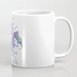 Mermaid Riding Unicorn Coffee Mug