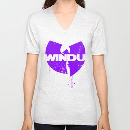 Nothing to mess with variant Unisex V-Neck