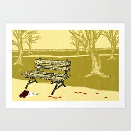 Not Everything Will Be Ok But Some Things Will Art Print