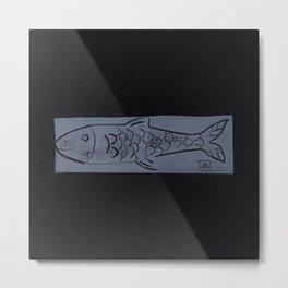 laying fish Metal Print
