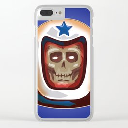 AstroSkull Clear iPhone Case