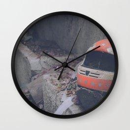 bike helmet Wall Clock