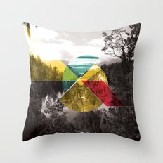 Sojourn series - Lake Mathieson Throw Pillow