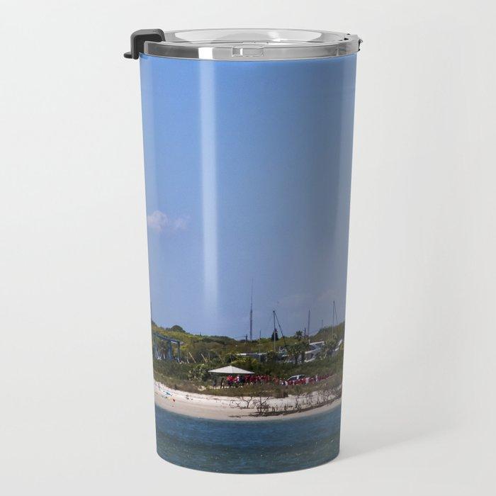 Sunny Day at Ponce Inlet Travel Mug
