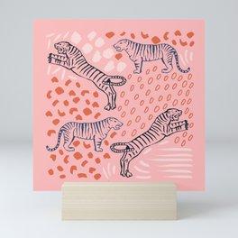 Tiger Print Mini Art Print