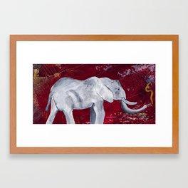(Elephant) Titus Framed Art Print