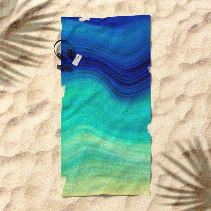 SEA BEAUTY 3 Beach Towel