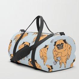 Buff Pug Duffle Bag