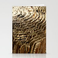 tree rings Stationery Cards featuring Tree Rings by tracy-Me