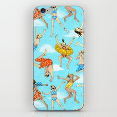 Pool Rats iPhone & iPod Skin