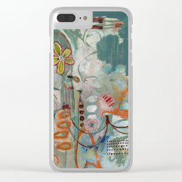 Not so Green Thumb Clear iPhone Case