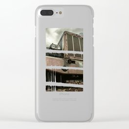Rusty Warrior Clear iPhone Case
