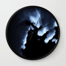 Moonlit Night (Cloud series #4) Wall Clock
