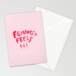 Feminist Feels Stationery Cards