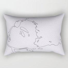 Afro Doll Rectangular Pillow