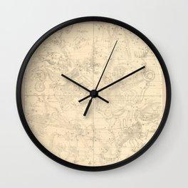 Burritt's Constellations (July, August, September) (1856) Wall Clock
