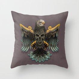 War bird Throw Pillow