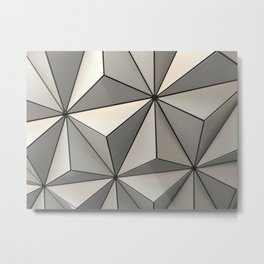 Spaceship Earth Metal Print