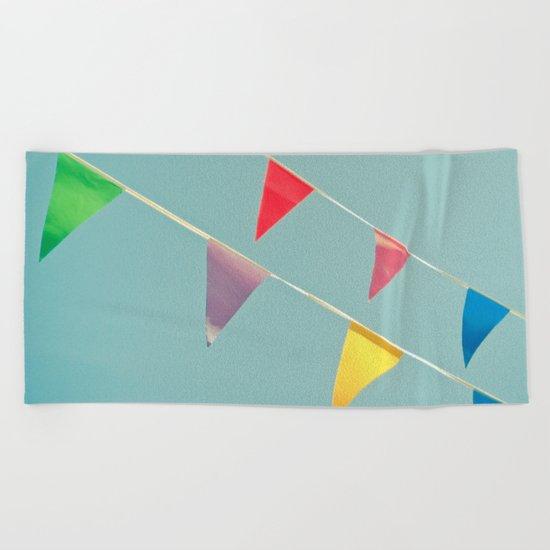 A Celebration Beach Towel