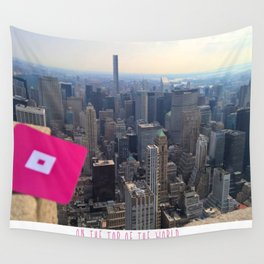 finicky_ scomb Wall Tapestry