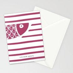 PIXE 1 (dark pink) Stationery Cards