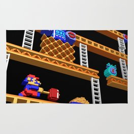 Inside Donkey Kong stage 2 Rug
