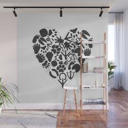 Heart of an animal Wall Mural