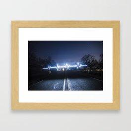 Heartbeat of America Framed Art Print