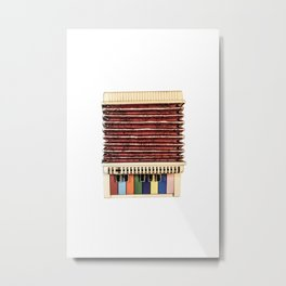 Vintage Childs Accordian Metal Print
