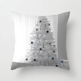 A White Christmas Throw Pillow