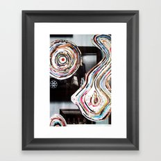how to read a magazine 5 Framed Art Print