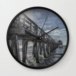 Sun and Fun in Naples Wall Clock