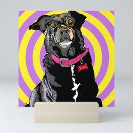 Hypno Doggie Mini Art Print