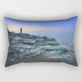 """Evening view"" Rectangular Pillow"