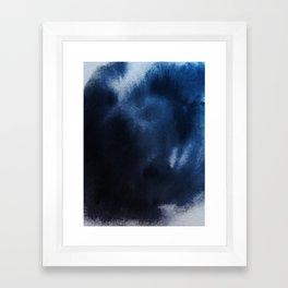 Watercolor Blue Framed Art Print
