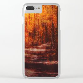 Inferno pathway Clear iPhone Case