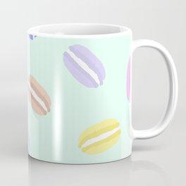 Large Macarons in Mint Coffee Mug