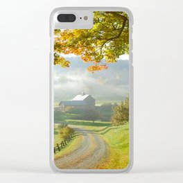 COUNTRY ROAD1 Clear iPhone Case