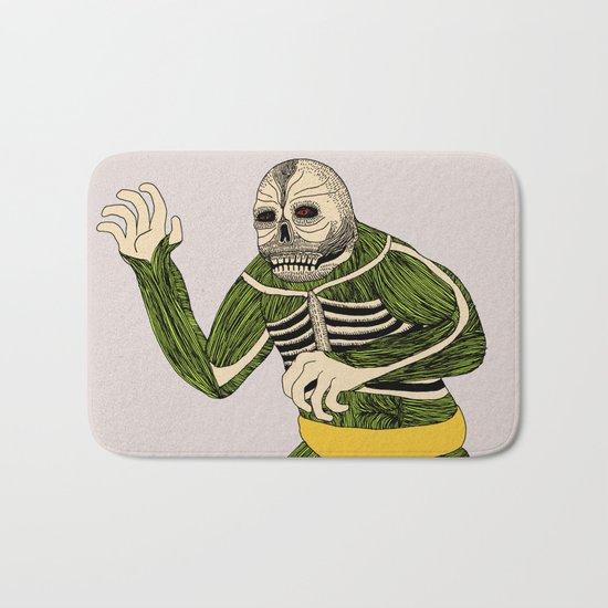 The Original Glowing Skull Bath Mat