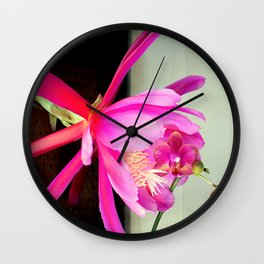 Love At First Bite Wall Clock