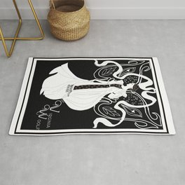 Virginia Woolf Art Nouveau Rug