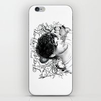 tattoos iPhone & iPod Skins featuring Tattoos - L by wreckthisjessy