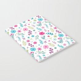 Spring pattern design Notebook
